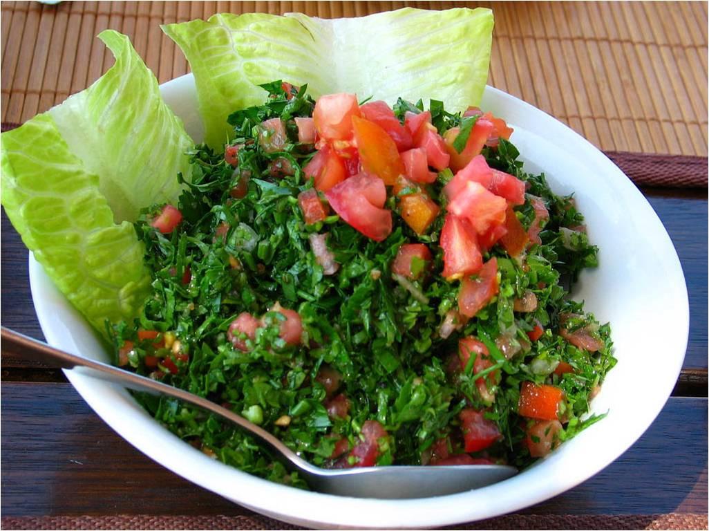 Tabbúleh Salát ze zelené petrželky a burgholu