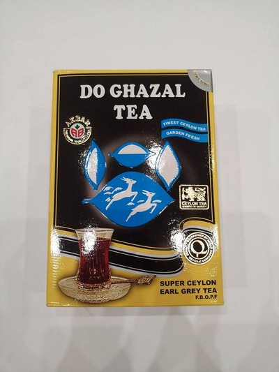 Do Ghazal, Čaj earl Grey