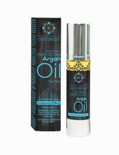 MOROCCAN ORGANIC ARGANOVY OLEJ FOR MEN (With 100% Natural Sandalwood Oil Blend)